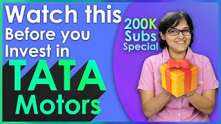 Fundamental Analysis Of Tata Motors By CA Rachana Phadke Ranade | 200K Subscriber Special