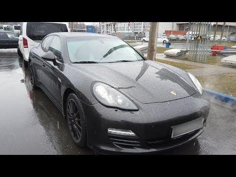 Подешевевший Porsche Panamera , который трудно продать!