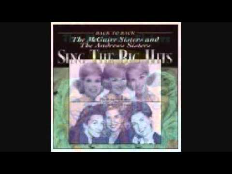 THE MCGUIRE SISTERS - HE (1955)