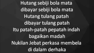 Dikir Temasek II - Debat Tuah Jebat lyrics