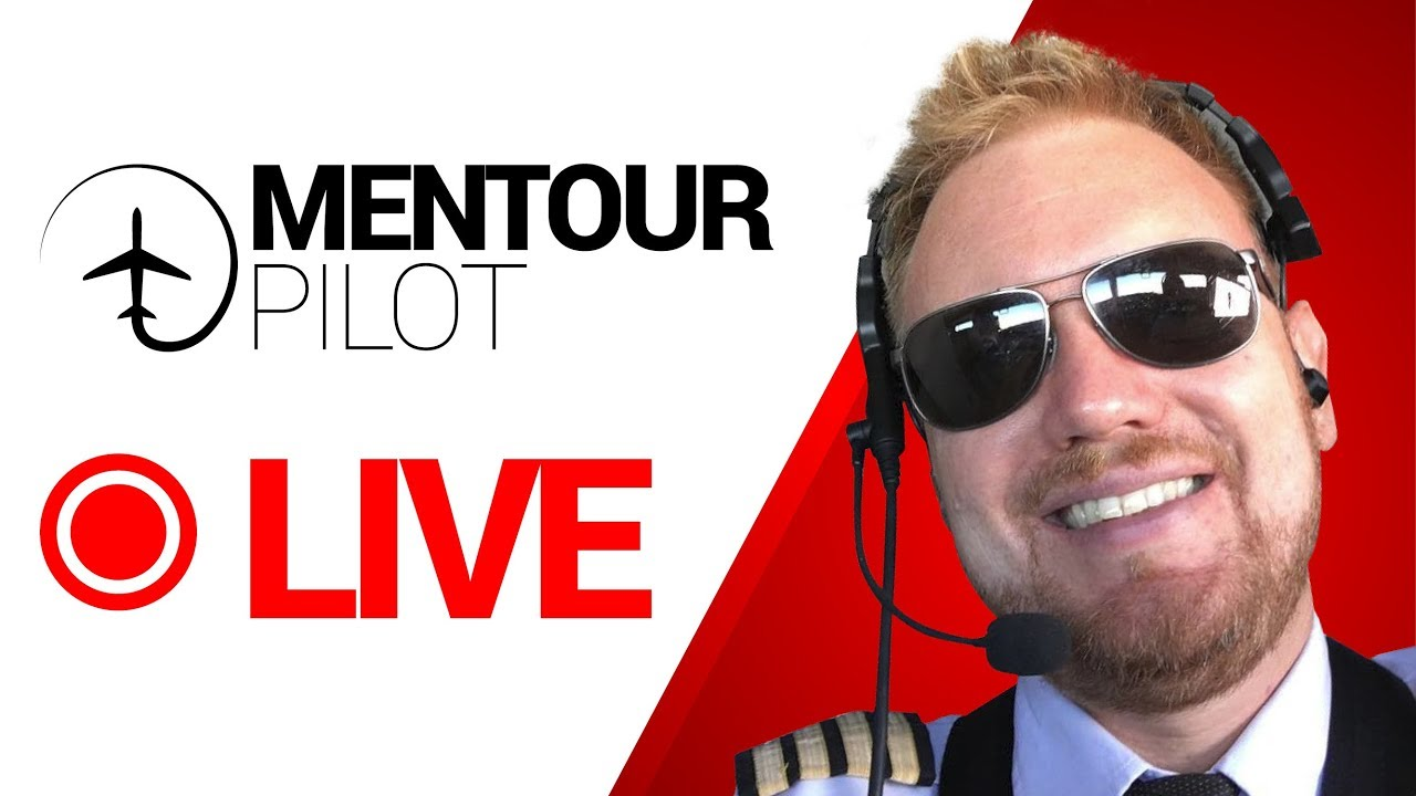 Mentour answers YOUR aviation questions, LIVE!