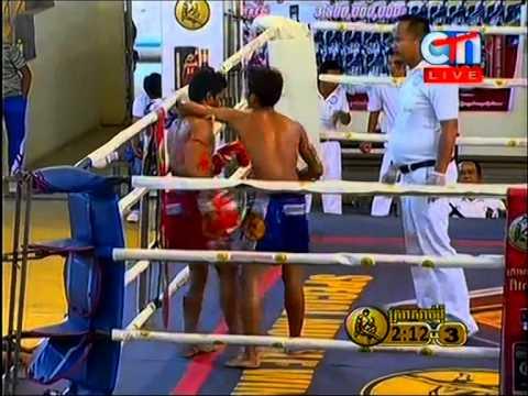 Khmer Boxing At CTN 22/Feb/2015
