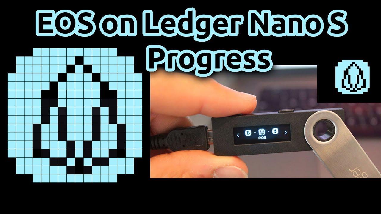 EOS Icon For Ledger Nano S