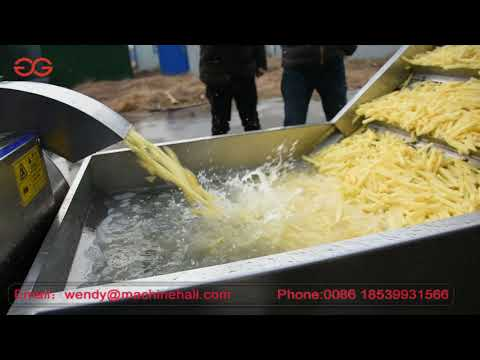Commercial Potato French Fries Cutting Machine
