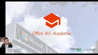 18-01 Office, OneNote, Sway und Visio Office 365 Akademie Special
