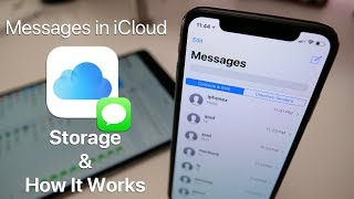 Messages in iCloud - Storage and How It Works