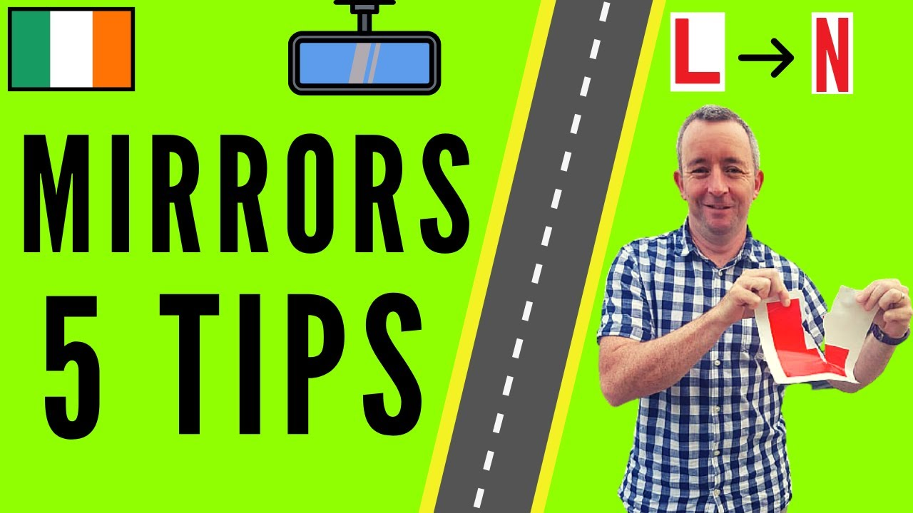Mirrors Driving Lesson  5 Tips for Checking Mirrors when Driving  YouTube