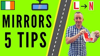 Mirrors Driving Lesson - 5 Tips for Checking Mirrors when Driving