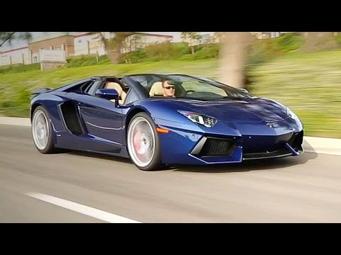 2016 Lamborghini Aventador Roadster - Review and Road Test