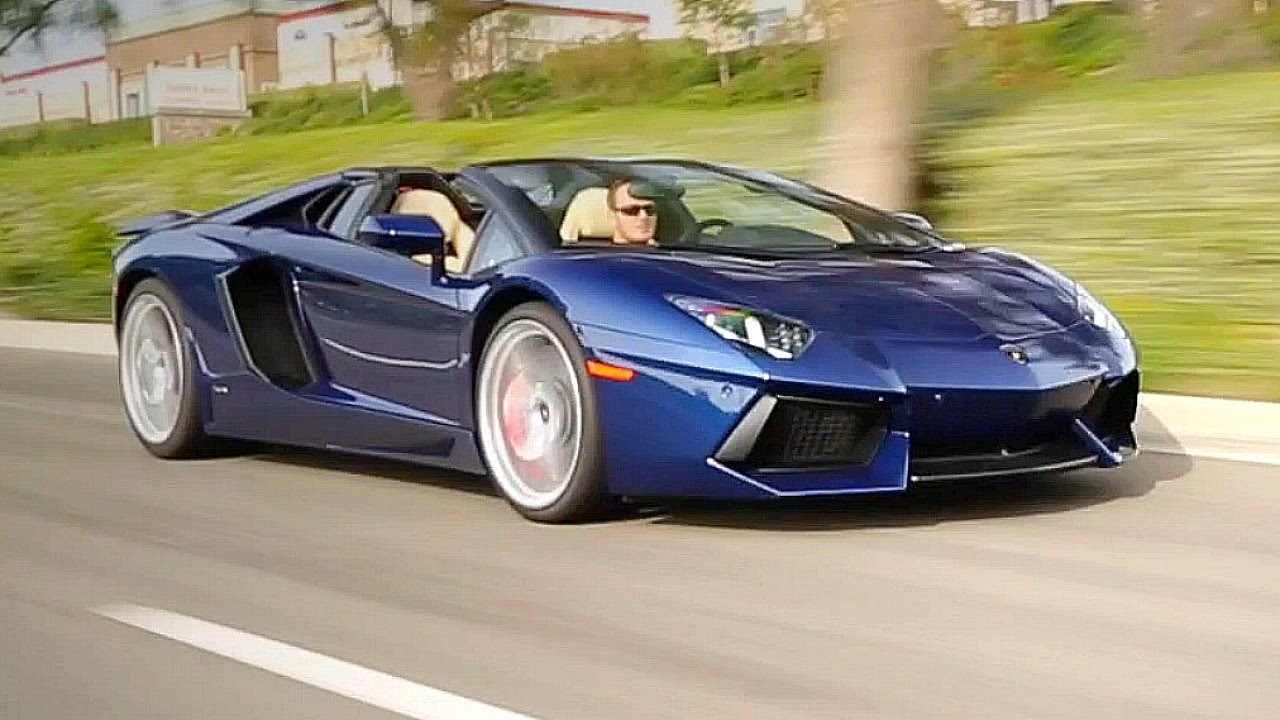 2016 lamborghini aventador roadster review and road test youtube. Black Bedroom Furniture Sets. Home Design Ideas