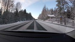 【4K】Turenki to Hämeenlinna Winter Drive