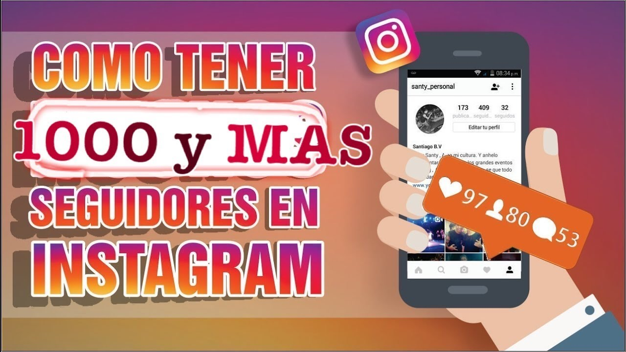 Aplicacion Para Ganar Mas De 1000 Seguidores Reales De Instagram Diariamente Youtube