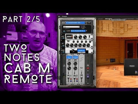 Two Notes Torpedo Cab M Part 2/5 - The Software