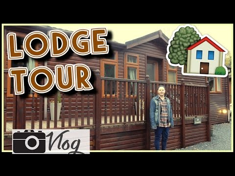 🏡 LODGE TOUR 🍁 | ⛵️ ARRIVING AT THE LAKE DISTRICT 🌅