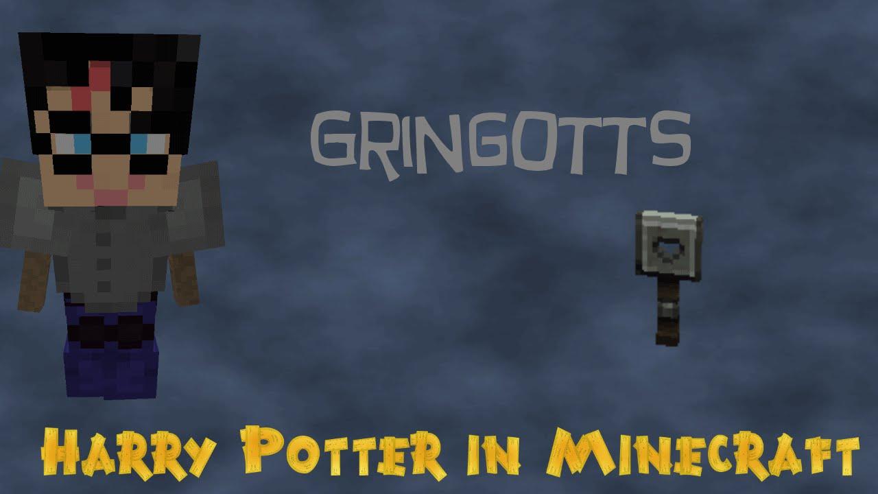 minecraft harry potter preview 15 gringotts vault youtube minecraft harry potter preview 15 gringotts vault