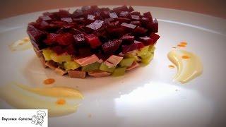 Салат с говядиной и свеклой