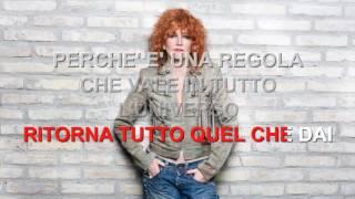 Fiorella Mannoia - Combattente - Karaoke con testo