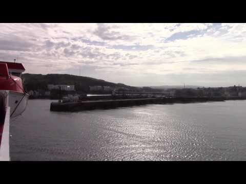 Isle of Man Ferry Heysham to Douglas Steam Packet Ben My Chree
