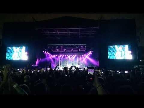DNCE abrindo o show do Bruno Mars 24k Magic World Tour em São Paulo 23/11/2017