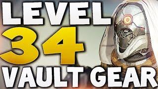 Destiny - LEVEL 34 VAULT GEAR !!! (House of Wolves)