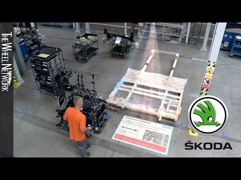 Skoda Tests Augmented Reality Projections to Support Logistics