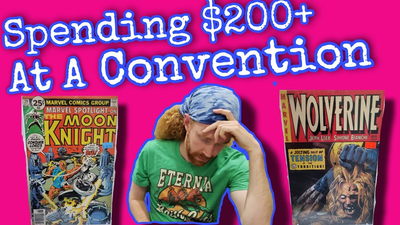 Buying Comics at a Local Convention