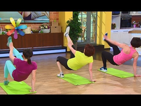 Топ-5 жиросжигающих упражнений от Ольги Кочубей – Все буде добре. Выпуск 1025 от 29.05.17 - Смотреть видео онлайн