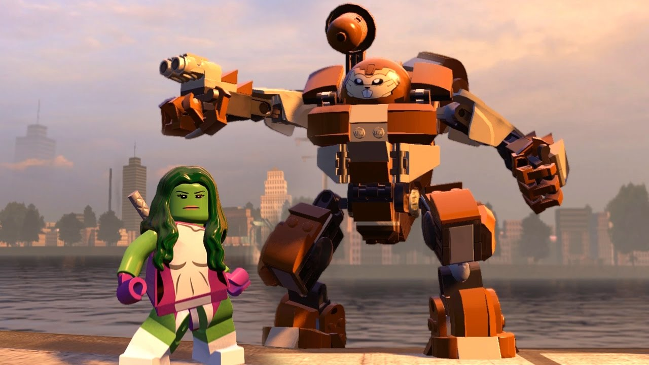 lego marvel avengers how to get squirrel girl