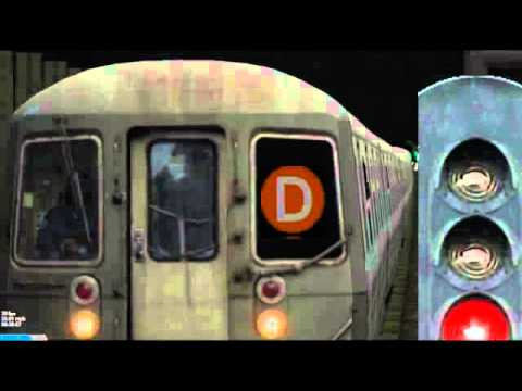 Openbve: B from 145 - Prospect Park (CPW Local)
