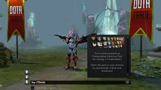 Dota 2 Compendium Emoticon Pack overview
