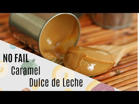How to make caramel sauce by boiling condensed milk