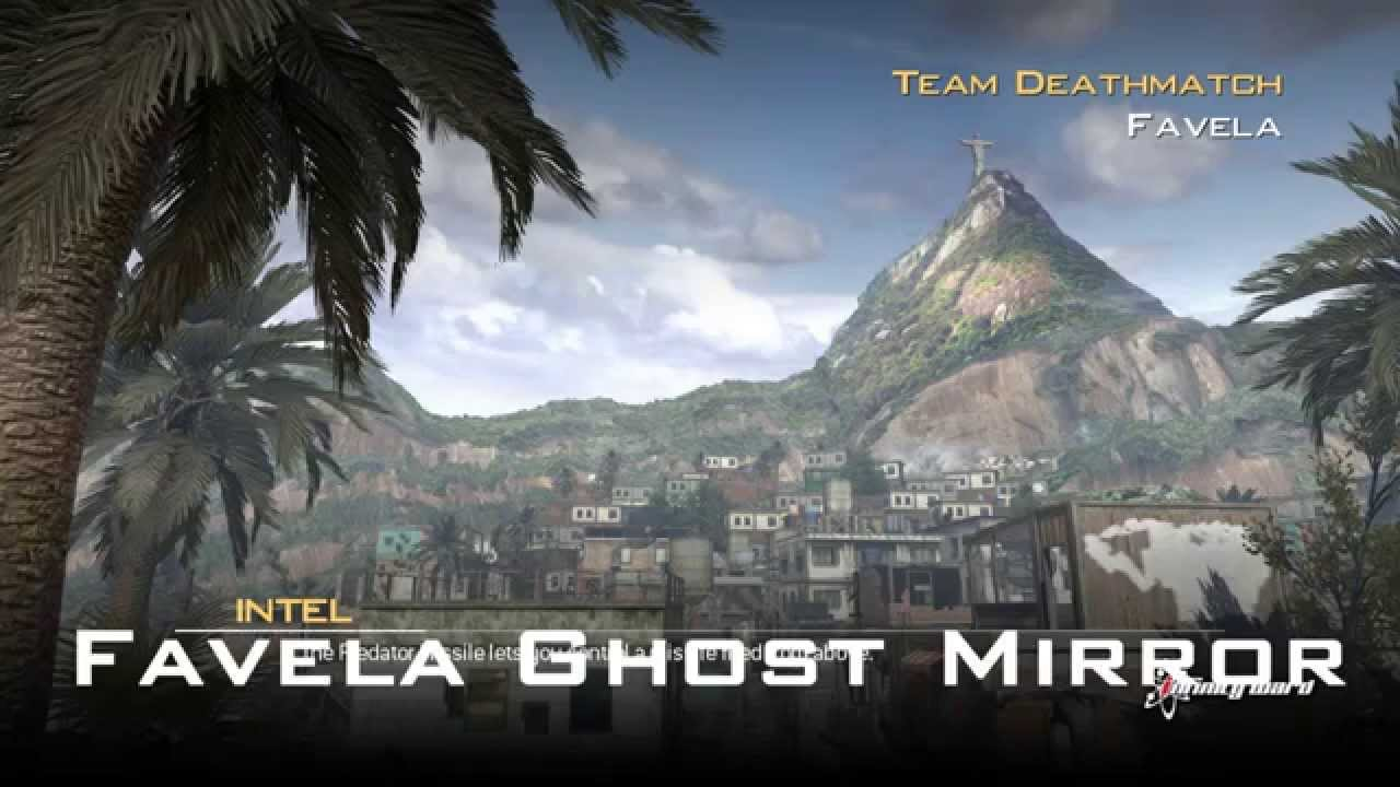 Call of duty modern warfare 2 favela ghost mirror glitch youtube sciox Image collections