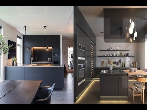 Top 40 Kitchen Black Modern Design Ideas Interior Design