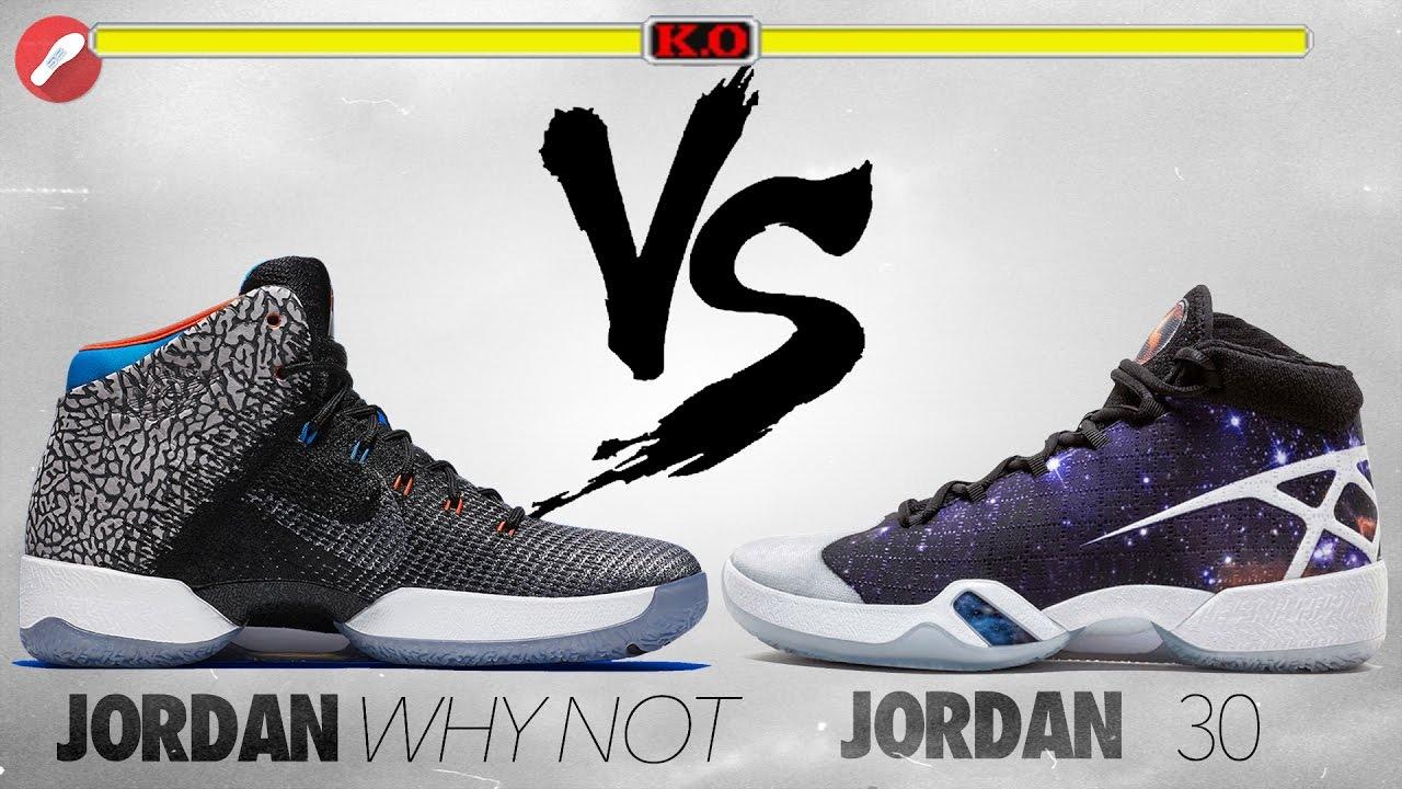 b77e3bb95c92ac Jordan 31 Why Not (30.5) Westbrook PE vs Jordan 30! - YouTube