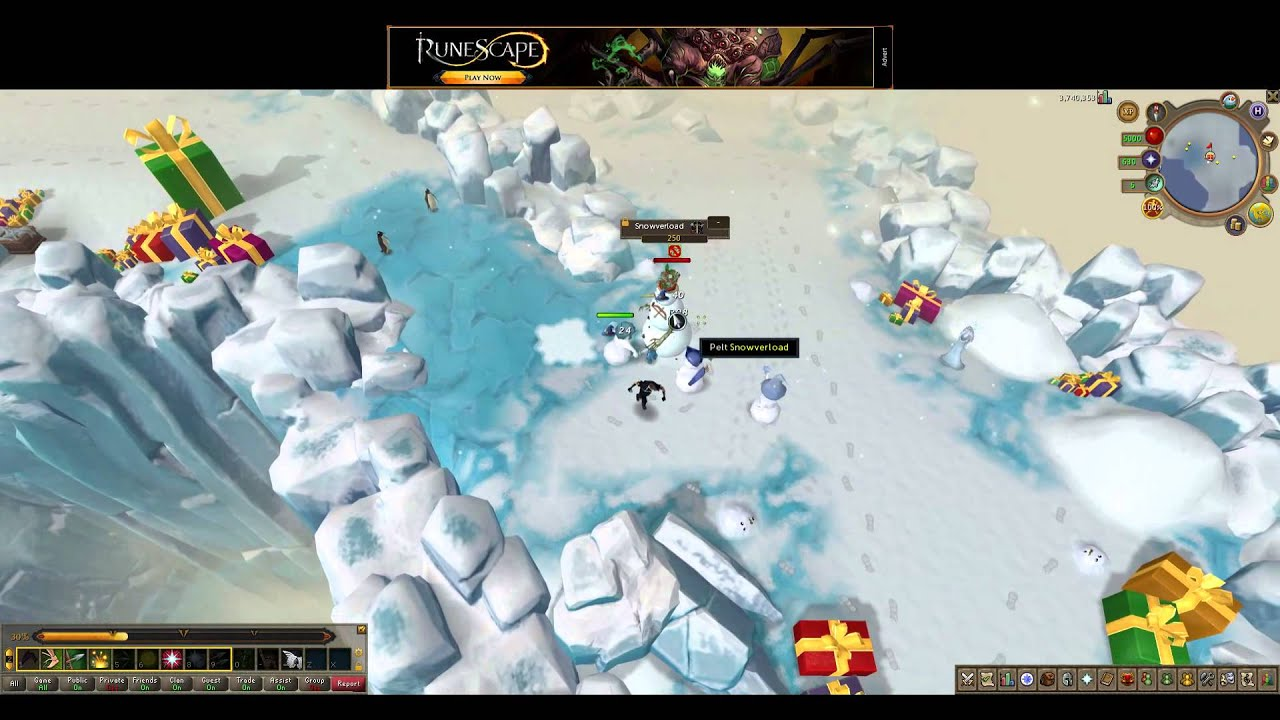 Runescape 3 - 2015 Christmas event The Pinch Who Stole Christmas ...