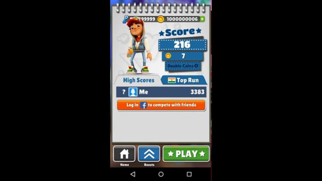 how to get more coins and keys in subway surfers