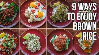 9 Ways to Make Brown Rice Less Bland / 9 Nueva Recetas para Arroz Integral