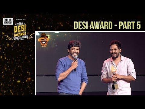#DesiAwards2017 -  Part 5 | Smile Settai | TrendLoud | RJ VigneshKanth | Chutti Aravind
