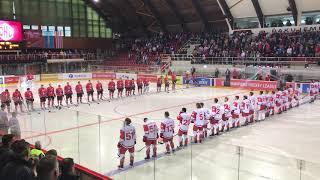 Hymna Ligy Majstrov - HC '05 Banská Bystrica – EC Red Bull Salzburg | 3.9.2017