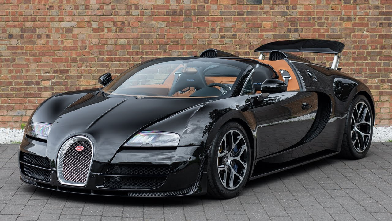 2013 Bugatti Veyron Grand Sport Vitesse Full Black Carbon Walkaround Interior Youtube