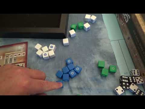 Axis and Allies D-Day Gameplay