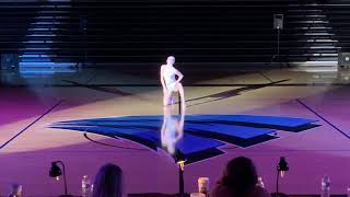 Lindsay Hesse at Miss Dance Team Minnesota 2018
