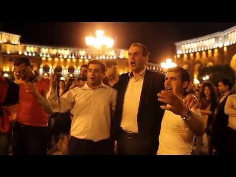 Ազգային պարեր Հանրապետության հրապարակում - ՄԱՍ 2 / Armenian Folk Dances In Republic Square - PART 2