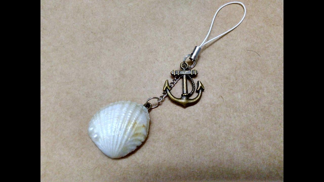 Sea Shell Keychains