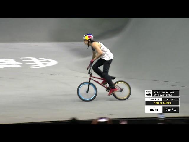 Daniel Dhers | 1st BMX Freestyle Final - FISE Jeddah 2018