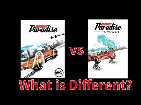 Burnout Paradise Remastered | Little Changes and Differences Part 1