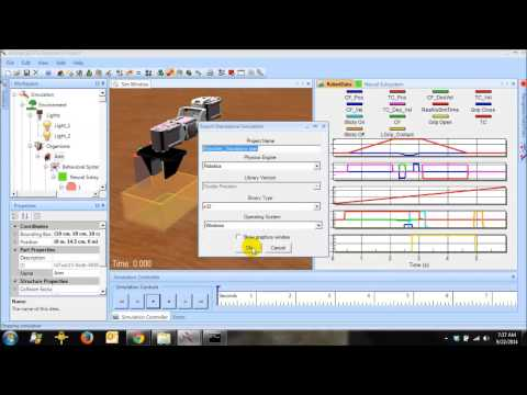 AnimatLab Robotic Arm Video Tutorial: Position and Velocity Control