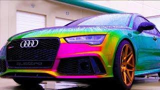 Este coche cambia de color