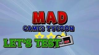 Mad Games Tycoon + agar.io в конце)