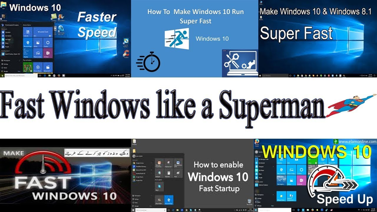 how to make windows 10 faster how to make your computer faster youtube. Black Bedroom Furniture Sets. Home Design Ideas